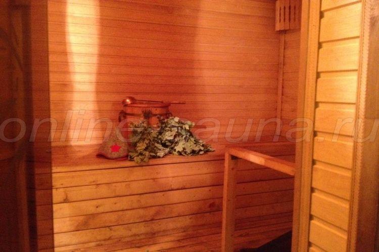 Берендей, баня на дровах